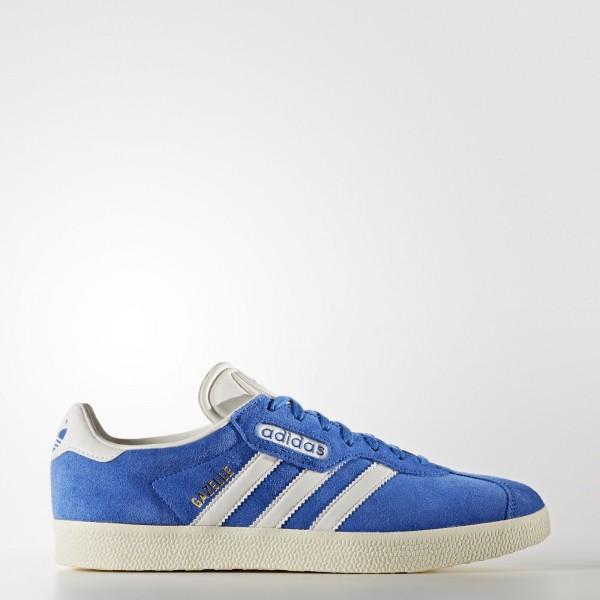 adidas Originals Gazelle Super (BB5241) - Bleu/Vin...