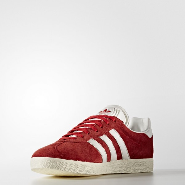 adidas Originals Gazelle Super (BB5242) - rouge/Vintage blanc/or Metallic -Unisex