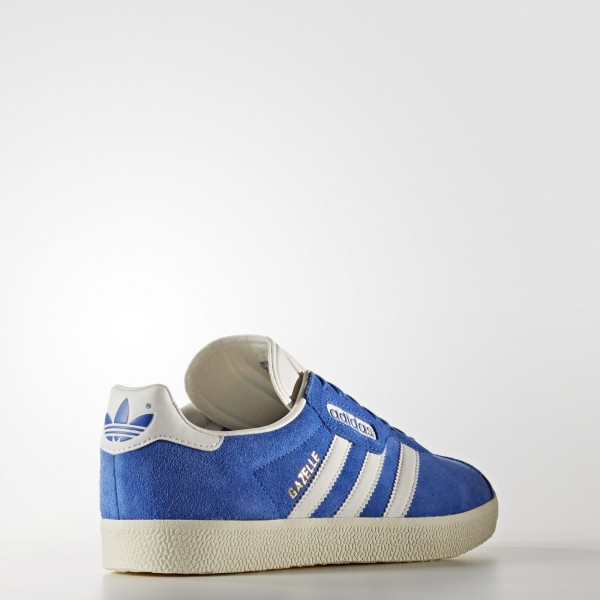 adidas Originals Gazelle Super (BB5241) - Bleu/Vintage blanc/or Metallic -Unisex