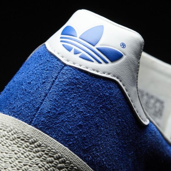adidas Originals Gazelle Super (BB5241) - Bleu/Vintage blanc/or Metallic -Unisex