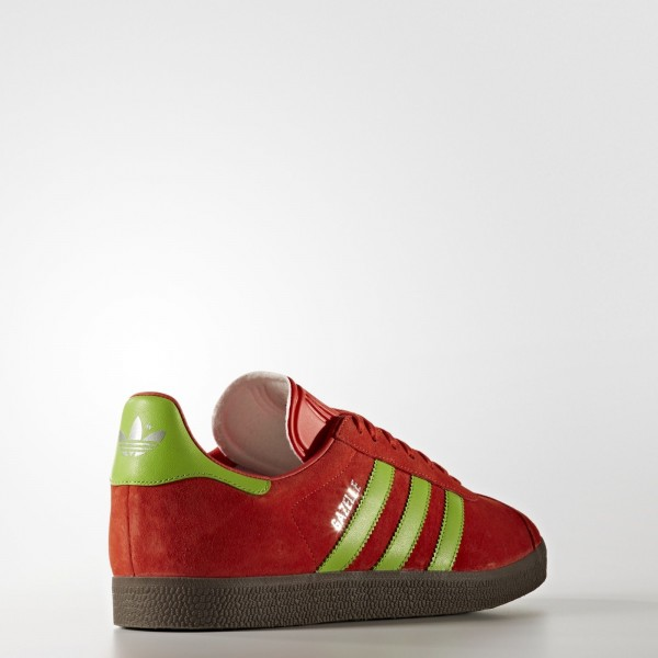 adidas Originals Gazelle (BB5263) - Core rouge/Semi Solar vert/Gum -Unisex