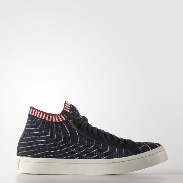 adidas Homme Originals Court Vantage Mid Primeknit...