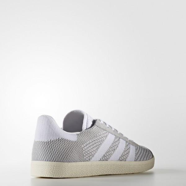 adidas Originals Gazelle Primeknit (BB2751) - Clear Onix/Footwear blanc/Chalk blanc -Unisex