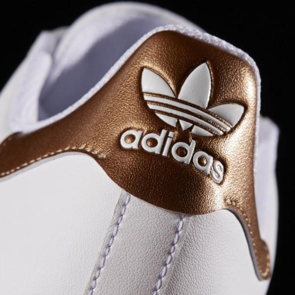 adidas Originals Superstar Vulc ADV (BB8611) - Footwear blanc/Copper Metallic -Unisex