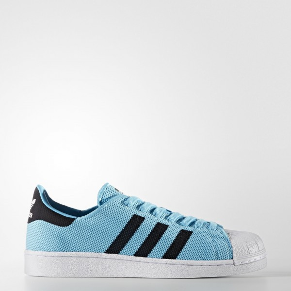 adidas Originals Superstar (BB2235) - Bright Cyan/...