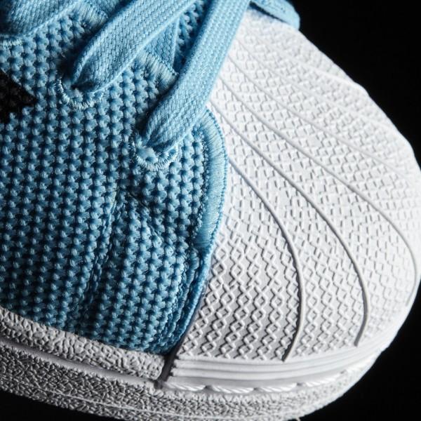 adidas Originals Superstar (BB2235) - Bright Cyan/Core Noir/Footwear blanc -Unisex