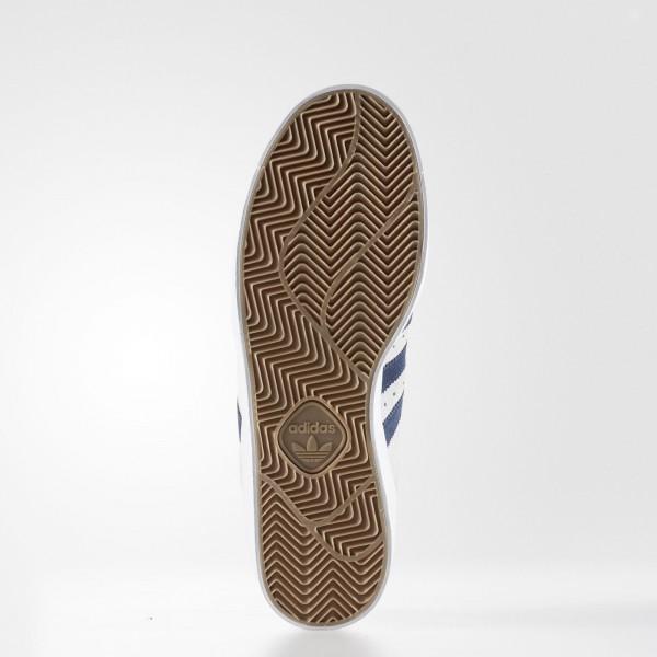 adidas Homme Originals Superstar Vulc ADV (BB8609) - Crystal blanc/Collegiate Navy/Footwear blanc