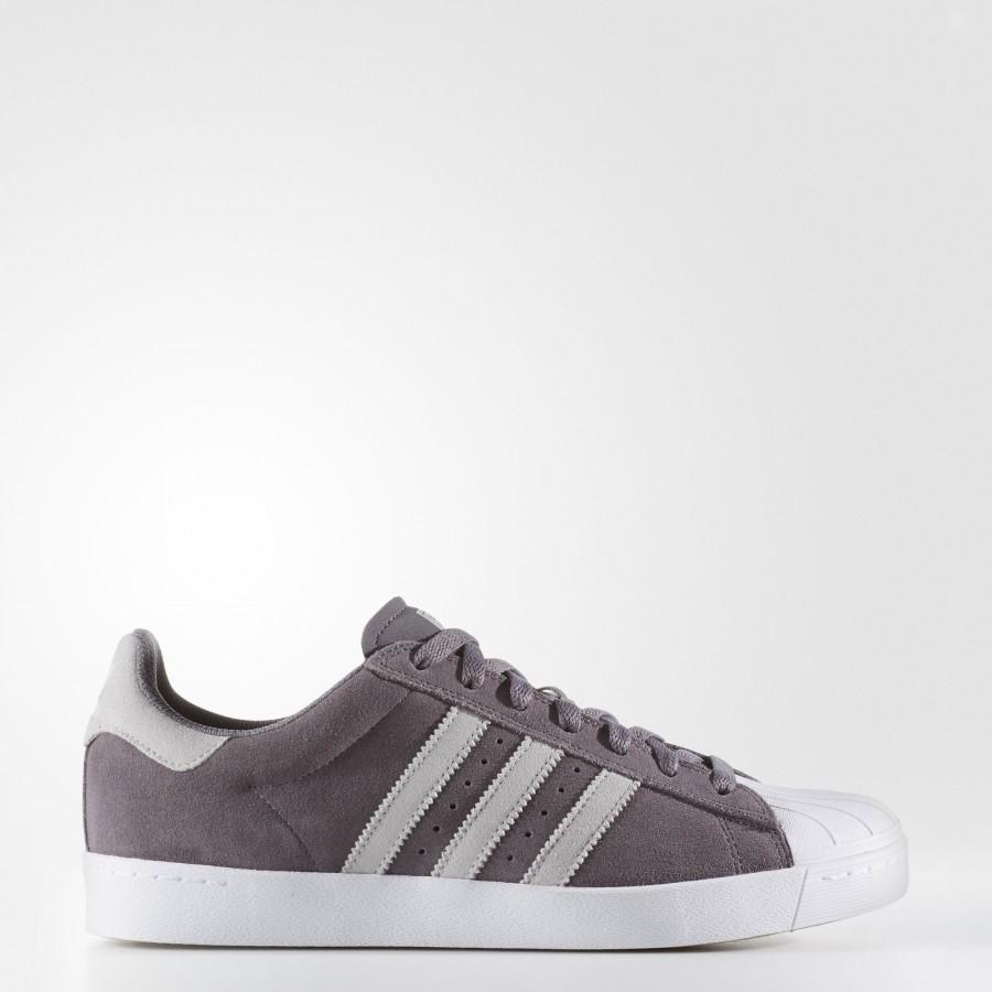 new arrival d69e2 b7bb5 adidas Homme Originals Superstar Vulc ADV (BB8608) - Trace gris Lgh Solid  gris