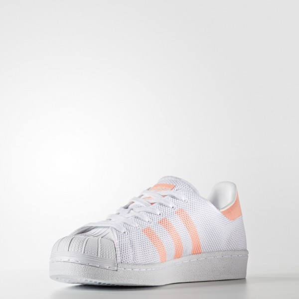 adidas Femme Originals Superstar (BA7736) - Footwear blanc/Sun Glow