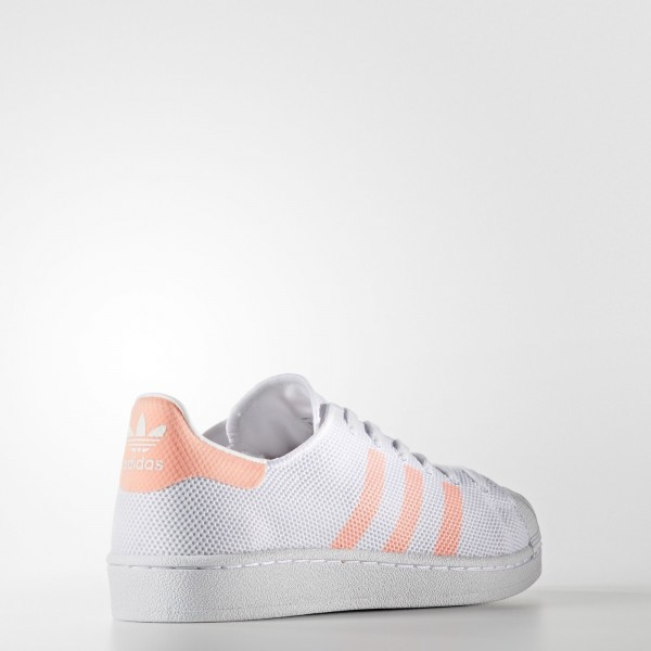 adidas Femme Originals Superstar (BA7736) - Footwear blanc/Sun Glow