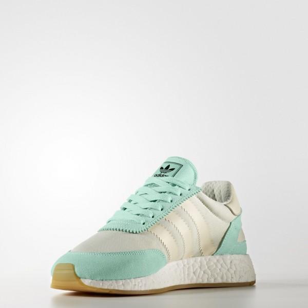 adidas Femme Originals Iniki Runner (BA9994) - Easy vert/Cream blanc/Linen vert