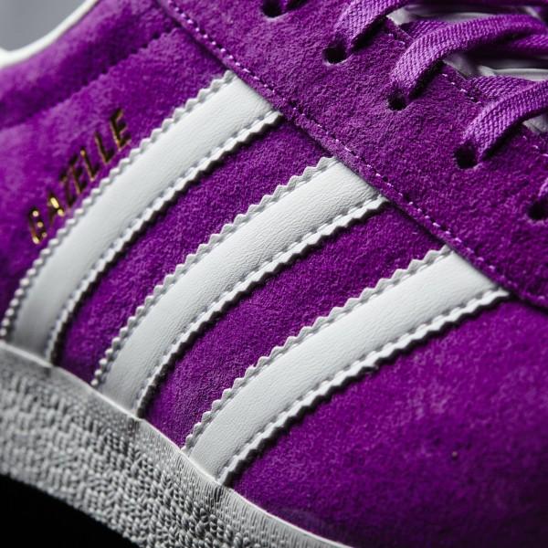 adidas Originals Gazelle (BB5484) - Shock Violet/blanc/or Met -Unisex