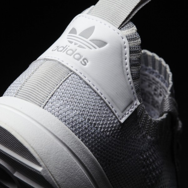 adidas Femme Originals Primeknit FLB (BY2796) - Clear Onix/Footwear blanc