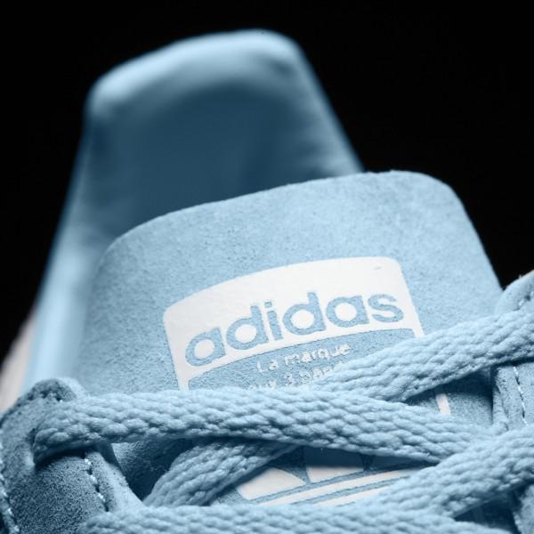 adidas Femme Originals Campus (BY9844) - Icey Bleu /Footwear blanc/Crystal blanc