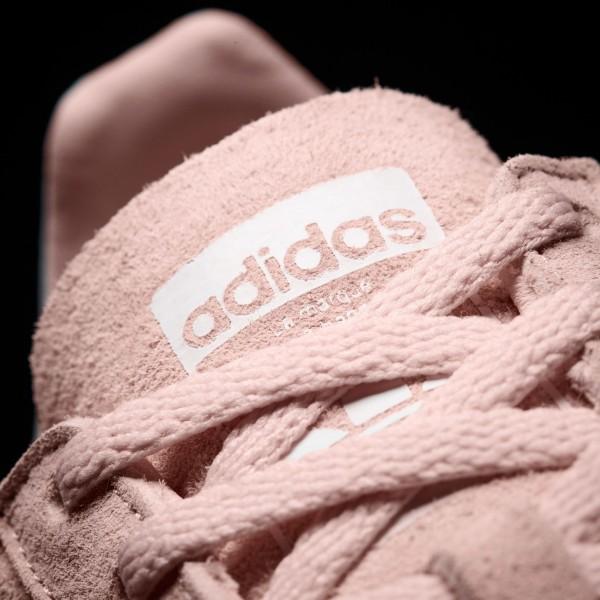 adidas Femme Originals Campus (BY9845) - Icey Rose /Footwear blanc/Crystal blanc