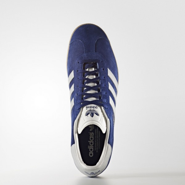 adidas Originals Gazelle (BB5496) - Unity Ink/Metallic argent-Sld/Gum -Unisex