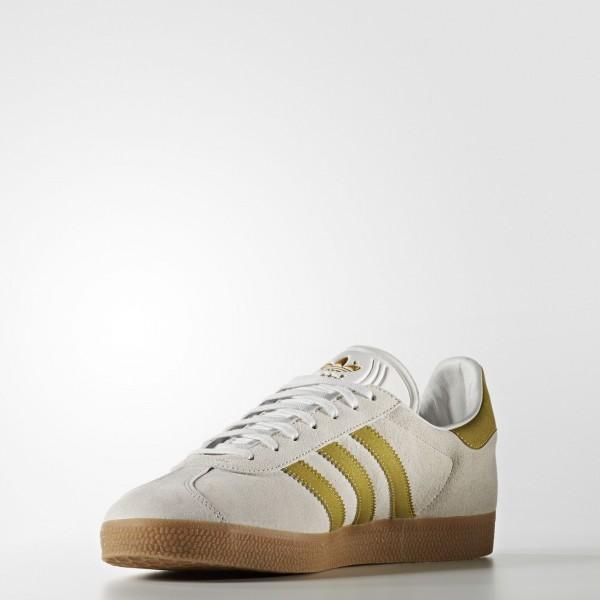 adidas Originals Gazelle (BB5495) - Vintage blanc/or Met./Gum -Unisex