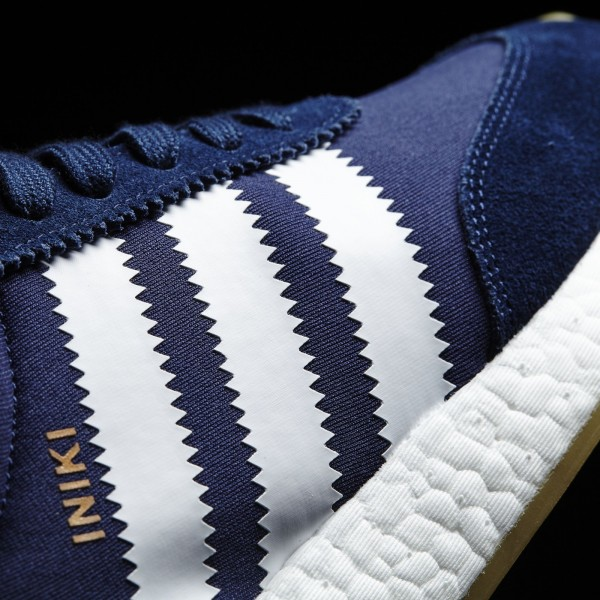 adidas Originals Iniki Runner (BB2092) - Collegiate Navy/Footwear blanc/Gum -Unisex