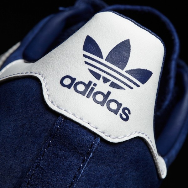 adidas Homme Originals Campus (BZ0086) - Dark Bleu/Footwear blanc/Chalk blanc