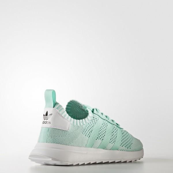 adidas Femme Originals Primeknit FLB (BY2793) - Easy vert/Footwear blanc