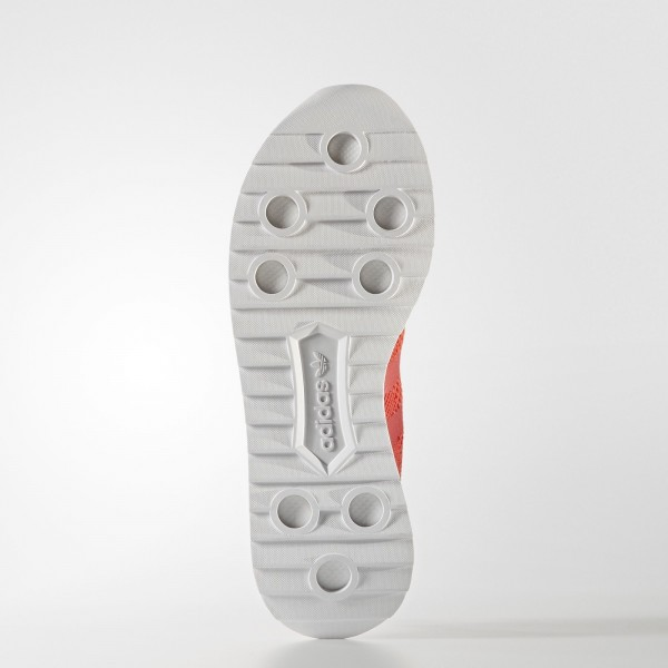 adidas Femme Originals Primeknit FLB (BY2794) - Core rouge/Footwear blanc
