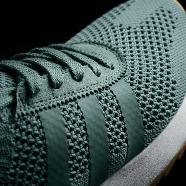 adidas Femme Originals Primeknit FLB (BY2798) - Trace vert/Crystal blanc