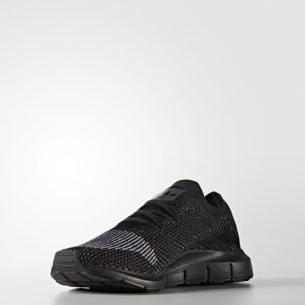 adidas Homme Originals Swift Run Primeknit (CG4127) - Core Noir/gris Five