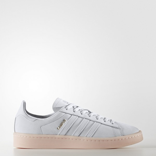adidas Femme Originals Campus (BY9839) - Crystal blanc /Crystal blanc /Icey Rose