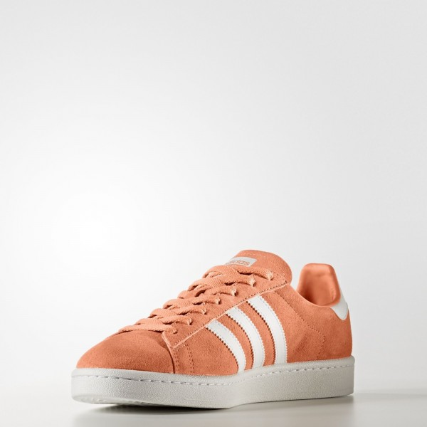 adidas Originals Campus (BZ0083) - Easy Orange /Footwear blanc/Crystal blanc -Unisex