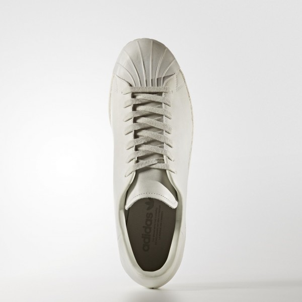 adidas Originals Superstar 80s Clean (BB0169) - Crystal blanc/Off blanc -Unisex