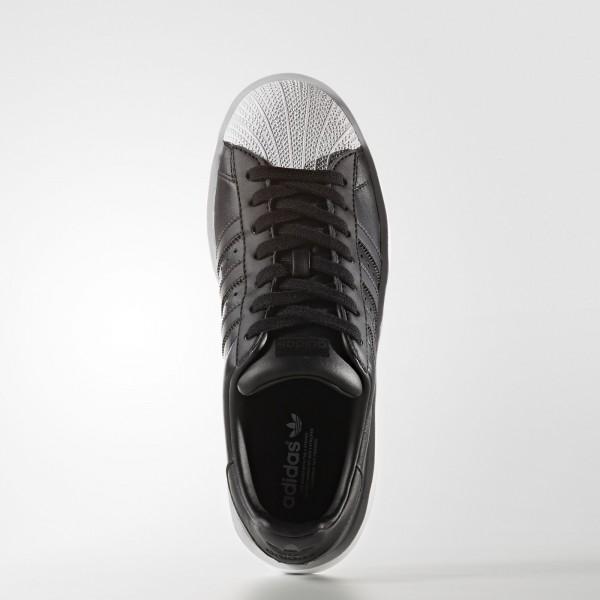 adidas Femme Originals Superstar Bold (BA7671) - Core Noir/Footwear blanc
