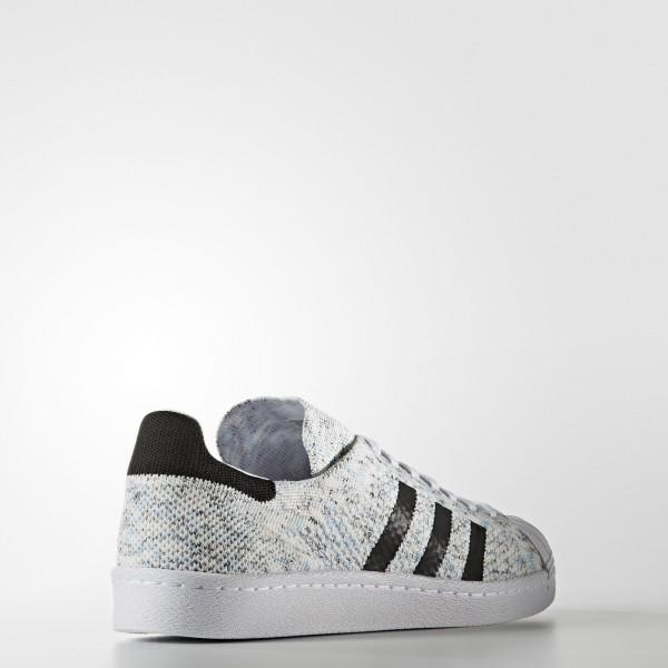 adidas Originals Superstar 80s Primeknit (BB2736) - Footwear blanc/Core Noir -Unisex
