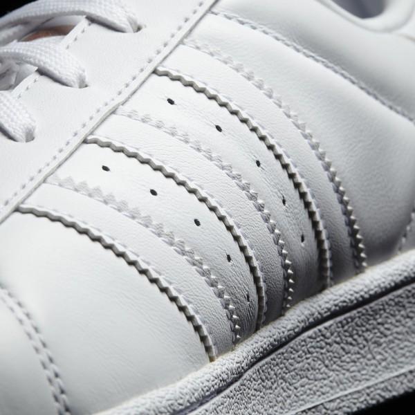 adidas Femme Originals Superstar 80s (BY2882) - Footwear blanc/Copper Metallic