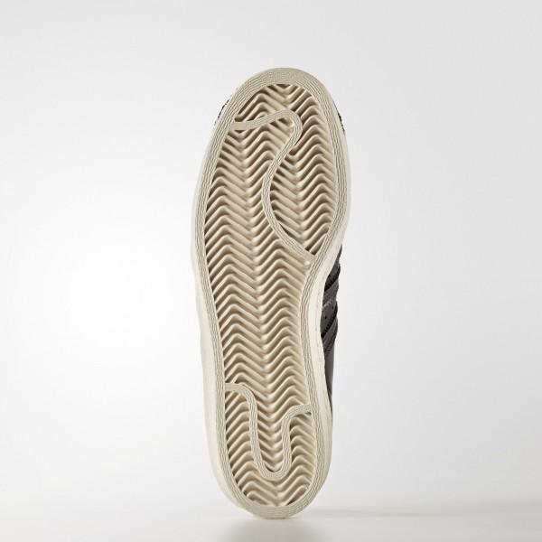 adidas Femme Originals Superstar 80s (BB2033) - Core Noir/Off blanc
