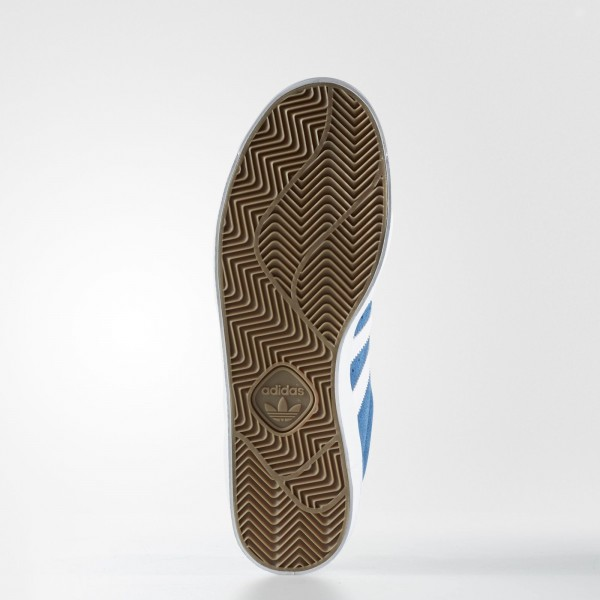 adidas Homme Originals Superstar Vulc ADV (BB8607) - Core Bleu/Footwear blanc/or Metallic