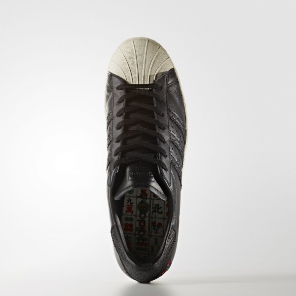 adidas Originals Superstar 80s CNY (BA7778) - Core Noir/Chalk blanc -Unisex