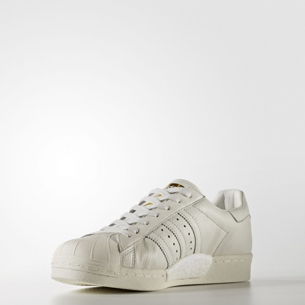 adidas Originals Superstar Boost (BB0187) - Vintage blanc/or Metallic -Unisex