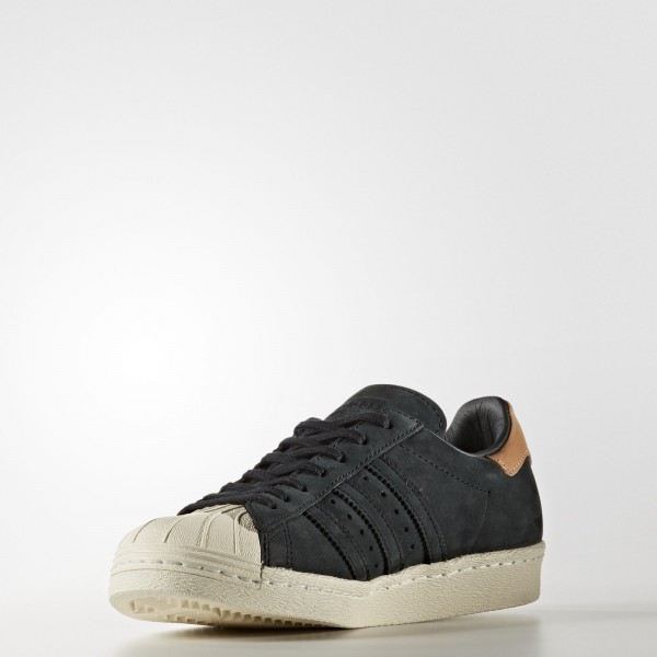 adidas Femme Originals Superstar 80s (BB2057) - Core Noir/Off blanc