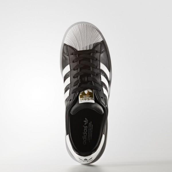 adidas Femme Originals Superstar Bold Platform (BA7667) - Core Noir/Footwear blanc/or Metallic