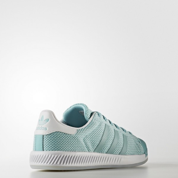 adidas Femme Originals Superstar Bounce (BB2294) - Easy Mint/Footwear blanc