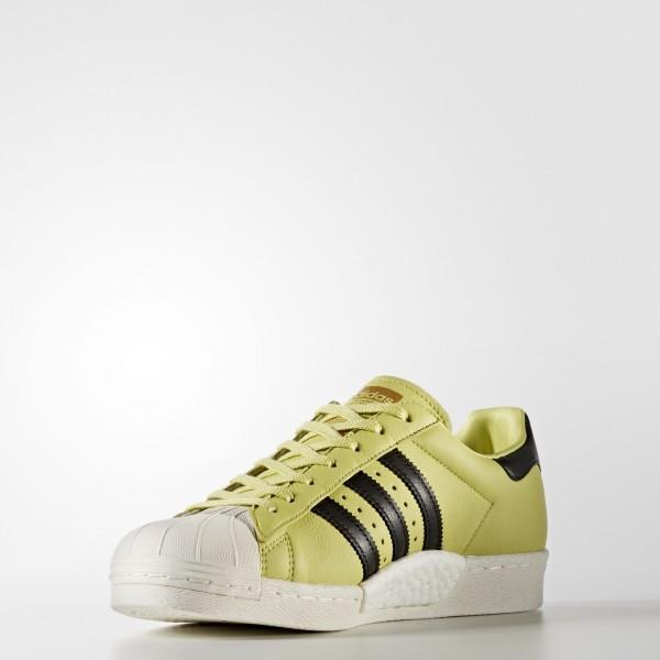 adidas Originals Superstar Boost (BB2730) - Bliss Lime/Core Noir/Off blanc -Unisex