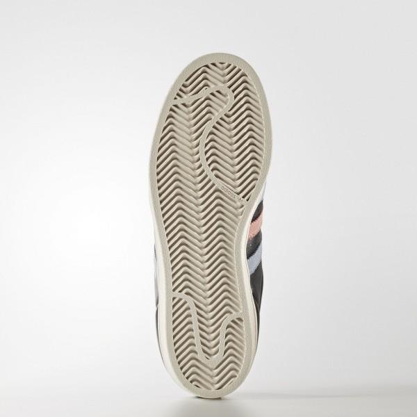 adidas Femme Originals Superstar (BB2141) - Core Noir/Easy Bleu/Haze Coral