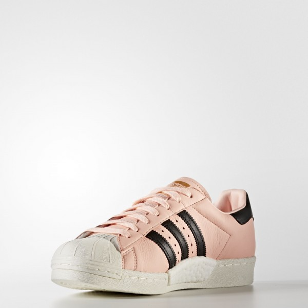 adidas Originals Superstar Boost (BB2731) - Haze Coral/Core Noir/Off blanc -Unisex