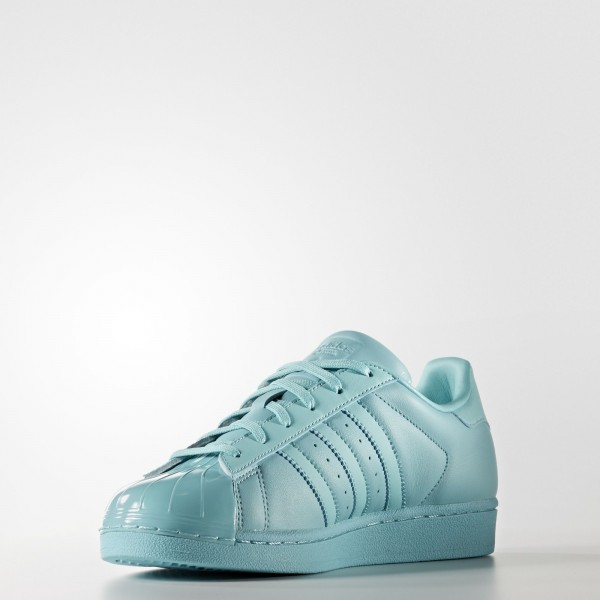 adidas Femme Originals Superstar (BB0529) - Easy Mint/Core Noir