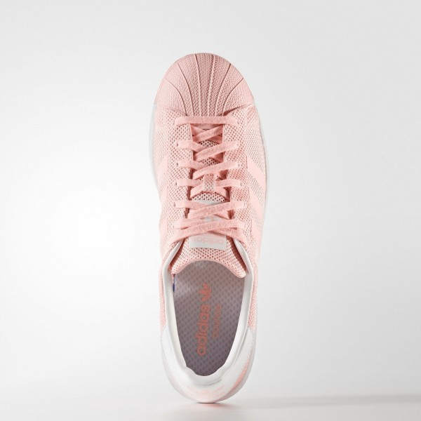 adidas Originals Superstar Bounce (BB2939) - Haze Coral/Footwear blanc -Unisex