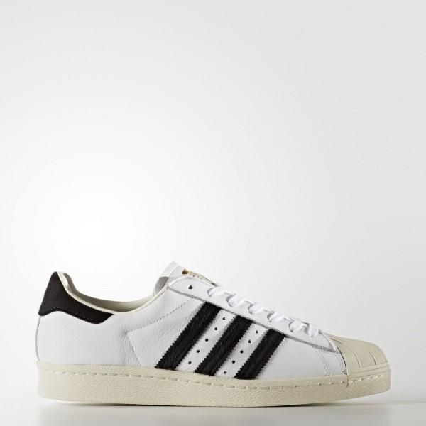 adidas Originals Superstar 80s (BB2231) - Footwear blanc/Core Noir/or Metallic -Unisex
