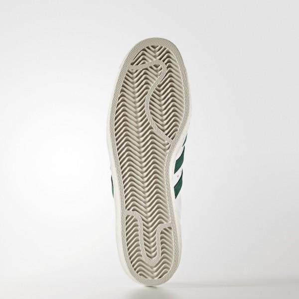 adidas Originals Superstar 80s (BB2230) - Footwear blanc/Collegiate vert/or Metallic -Unisex