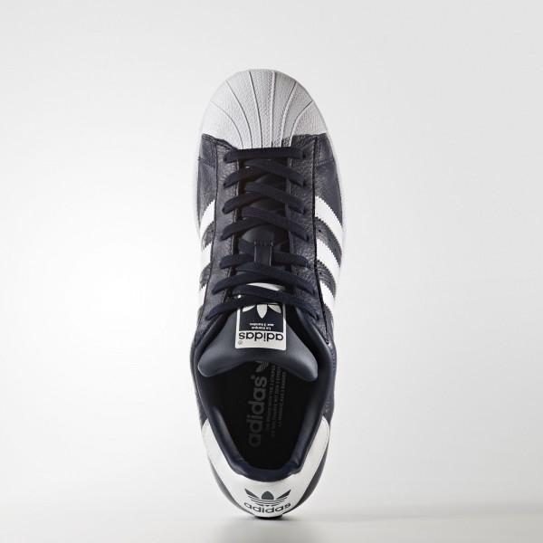 adidas Originals Superstar Foundation (BB2239) - Collegiate Navy/Footwear blanc -Unisex