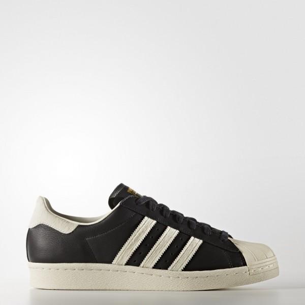 adidas Originals Superstar 80s (BB2232) - Core Noir/Footwear blanc/or Metallic -Unisex