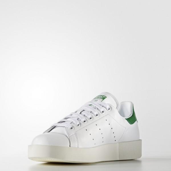 adidas Femme Originals Stan Smith Bold (S32266) - Footwear blanc/vert